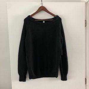Lululemon Knit Black Sweater